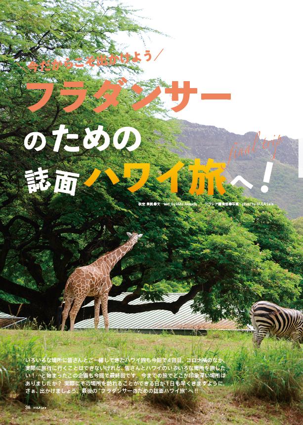 【連載】フラダンサーのためのハワイ旅 最終回